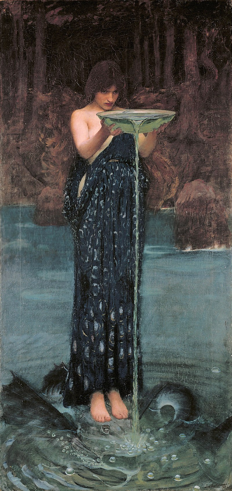 800px-Circe_Invidiosa_-_John_William_Waterhouse